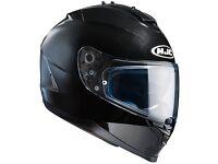 BRAND NEW HJC IS-17 Plain - GlossBlack Motorbike Helmet