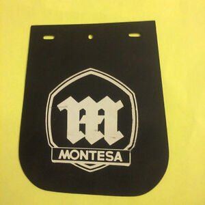 NOS Montessa Dirt Enduro Street Bike Fender Mud Flaps