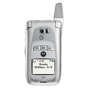 NEW MOTOROLA i870 SILVER UNLOCKED 4 NEXTEL WORLDWIDE SB