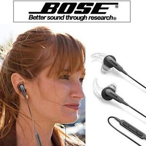 NEW BOSE IN-EAR HEADPHONES - 106912105 - SOUNDTRUE ULTRA HEADPHONES - EAR BUDS APPLE DEVICES CARRYING CASE - S/M/L TIPS