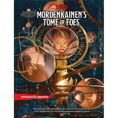 Dungeons   Dragons D D   Mordenkainens Tome Of Foes  New