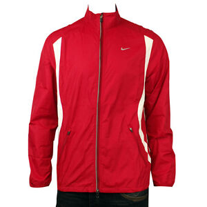 Mens-Nike-Dry-FIT-Red-Running-Training-Breathable-Microfibre-Jacket-Size-S-XXL