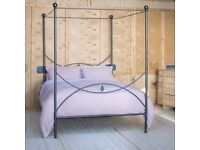 Nights In Iron Double Bed (Optional Four Poster)