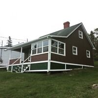 Rustic Cottage Rental on Bay of Fundy