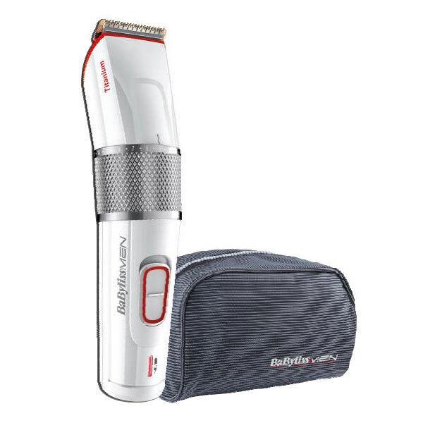 Babyliss E971E Haar- und Bartschneider Titanium PRO41 Netz/Akku Haarschneider