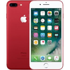 Red IPhone 7 128gb