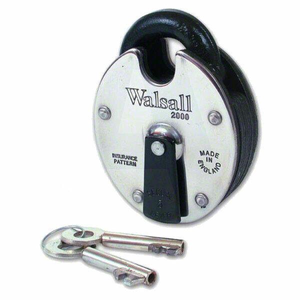 Walsall Padlock 2000 5L ANTI-PICK (WL2000-5L)