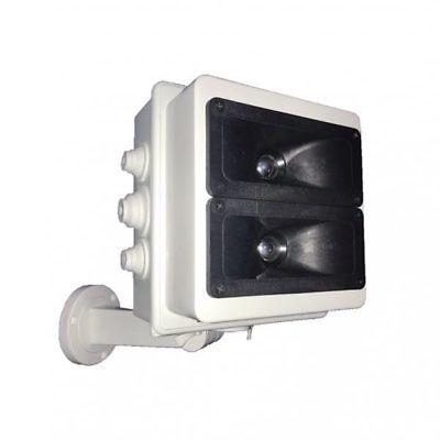 Abweisend ultraschall für hund und katze - version plus von außerhalb 100 m ² ()