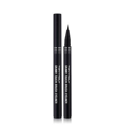 [TONYMOLY] Skinny Touch Brush Pen Liner 01 Black /Korea (Best Black Brush Pen)