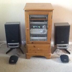 AIWA sound system.
