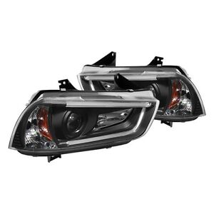Dodge Charger Spyder headlights (2011, 2012, 2013, 2014)