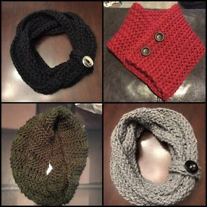 Handmade Scarves Cowls and Hats