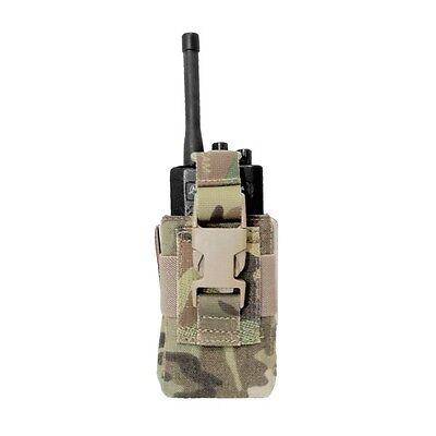 Handheld Radio Pouch - ELITE OPS ADJUSTABLE RADIO POUCH HANDHELD  RADIO POUCH SUIT MOTOROLA ICOM ETC