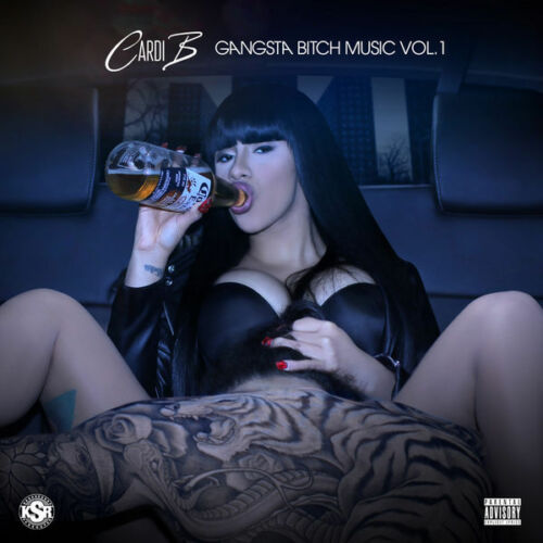 Cardi B - Gangsta Bitch Music Vol. 1 Mixtape Cd
