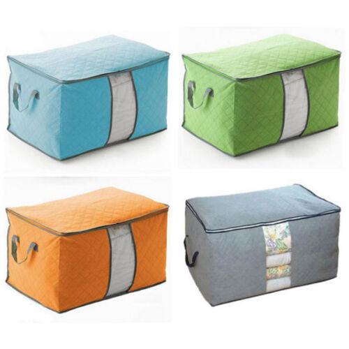 Large Clothes Quilt Bedding Storage Bag Box Laundry Pillow S