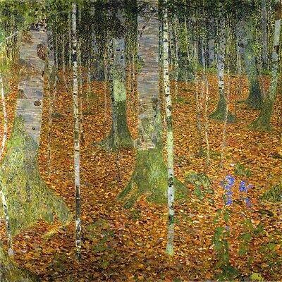 Giclee Print Wood Print - Gustav Klimt,