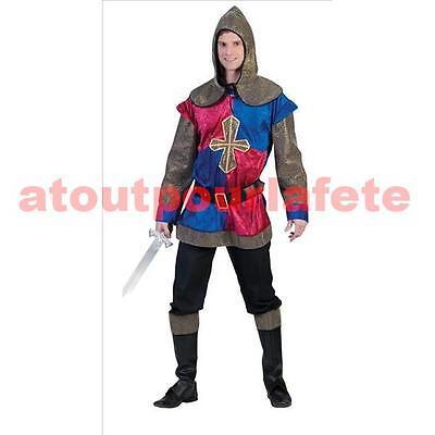 Déguisement de Chevalier adulte,homme,médiéval,moyen age,carnaval,costume,fete