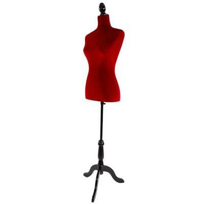 Female Tailor Dummy Display Retail Bust Dressmaker Sewing Mannequin Torso Stand