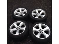 """Bmw e53 x5 alloy wheels 19"""" staggered"""