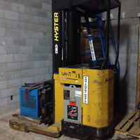 Selling 1992 Hyster Stand Up Riding Forklift