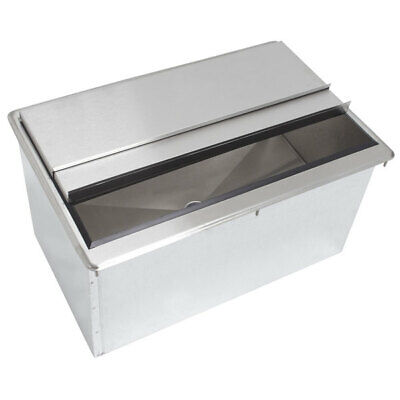 24 X 18 Stainless Steel Drop In Ice Bin