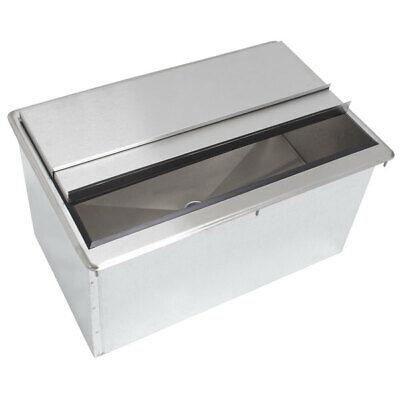 36 X 18 Stainless Steel Drop In Ice Bin