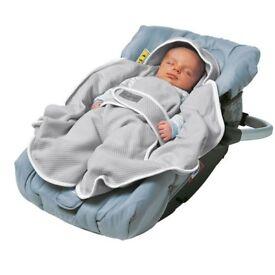 Red castle Babynomade blanket