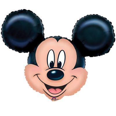 Mickey Mouse SuperShape Foil Balloon 69cmx53cm Disney Birthday Party Decorations - Disney Halloween Party Decorations