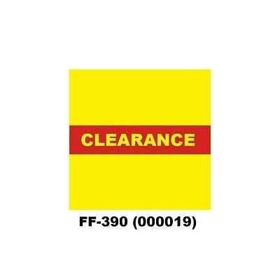 Genuine Monarch 1136 Clearance Ff-390 Pricing Gun Labels 000019