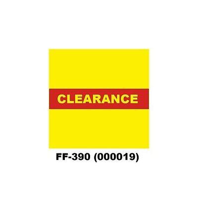 Genuine Monarch 1136 Clearance Ff-390 Pricing Gun Labels 000019