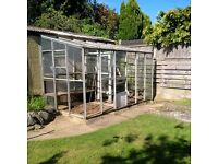 Large 12 x 6ft Lean-to GreenHouse