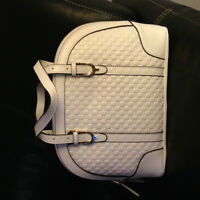 Brand New White Leather Gucci Bag.