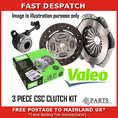 GENUINE OE VALEO 3 PIECE CSC CLUTCH KIT FOR FORD 834009