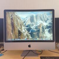 iMac 24¨ Core 2 Duo 2x 2,4 GHZ / 3G ram / 500g HDD / Office 2008