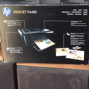 New hp printer with scanner
