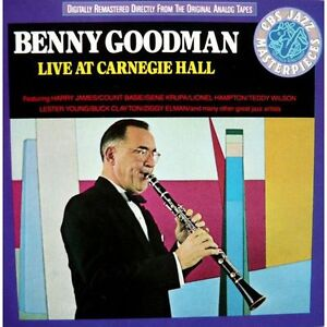 Benny Goodman-Live at Carnegie Hall 1938-2 cd set + bonus cd
