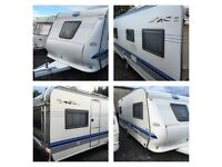 2004 HOBBY 560 PRESTIGE - KING SIZE FIXED BED - 4/5 BERTH
