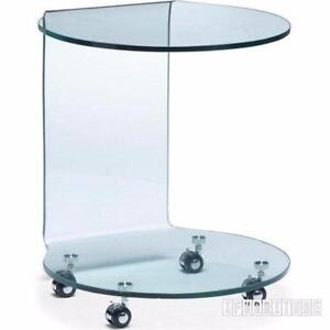 Ifurniture Incredible Deals-Bent Glass Coffee table / End Table, Starts from $99