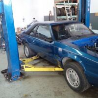 86 Mustang rolling shell NO EMISSIONS TEST