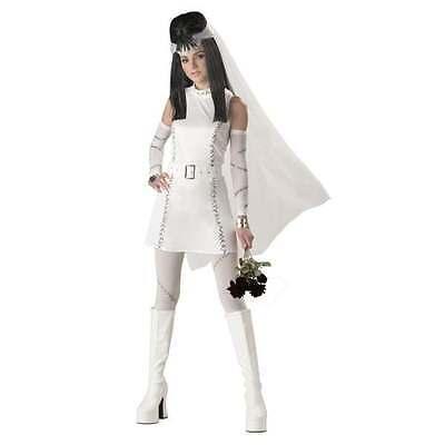 Frankenstein Girl Costume (Frankie's Girl Teen Costume Size 5-7 Bride of Frankenstein Girls)