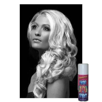 Spraydose Weiß für Haar, Make Up Halloween Karneval Ps 22989