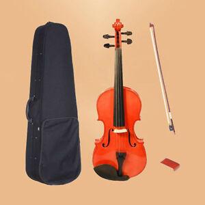NAOMI VIOLIN 6-8 Years Old Student Violin 1/4 VIOLIN / FIDDLE +CASE  SET-328#
