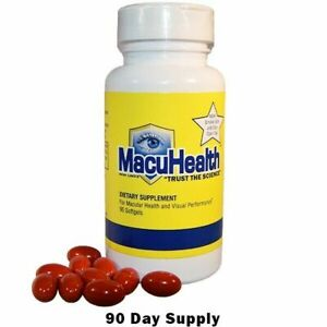 4 bottles = 1yr supply. New MACUHEALTH  Vitamins 4- 90 Capsu