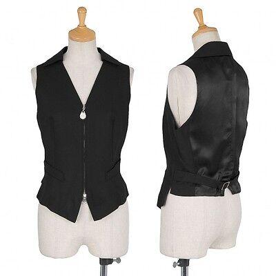 (SALE) JUNIOR GAULTIER collared wool nylon Gillet Size 40(K-21257)