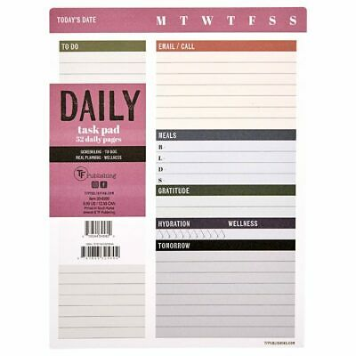 TF Publishing Daily Task Pad - NEW in WRAPPER