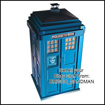 Fridge Fun Refrigerator Magnet Dr. Who: TARDIS Version 2 Specialty Die-Cut