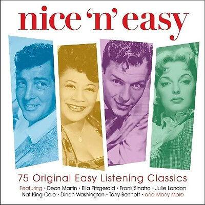 Nice'N'Easy VARIOUS ARTISTS 75 Easy Listening Classics BEST MUSIC New 3 (Best Easy Listening Artists)