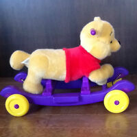 Pooh Ride along Musical  or stationery bear