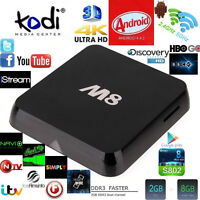 M8 Android TV Media Box
