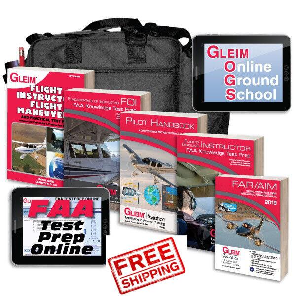 Gleim Flight/Ground Instructor + FOI Kit [GLEIM KIT CFI] FREE SHIPPING